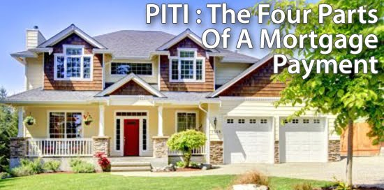 PITI The Four Parts of a Mortgage Payment